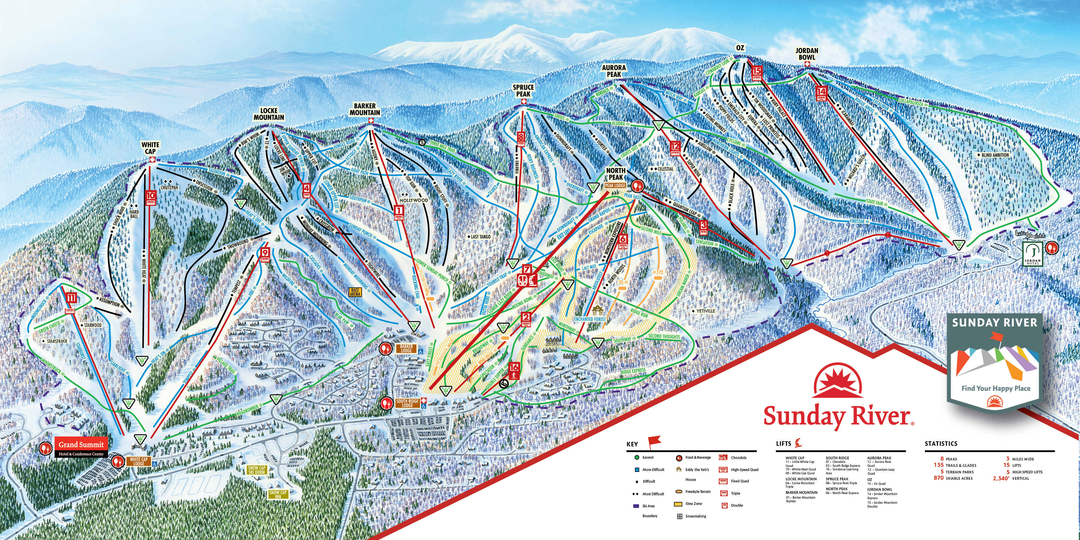 Trail Map | Sunday River on