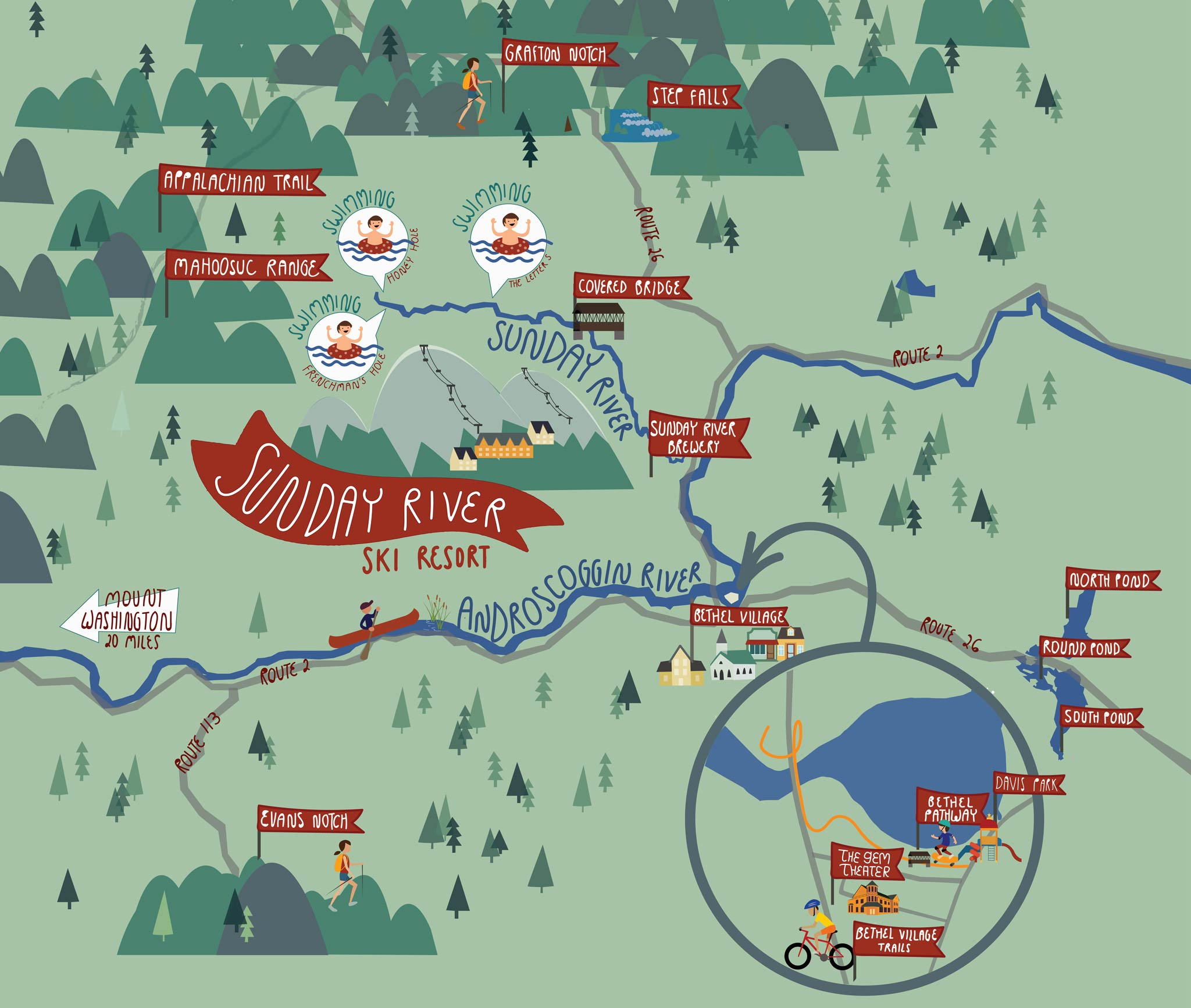 Trail Map   Sunday River