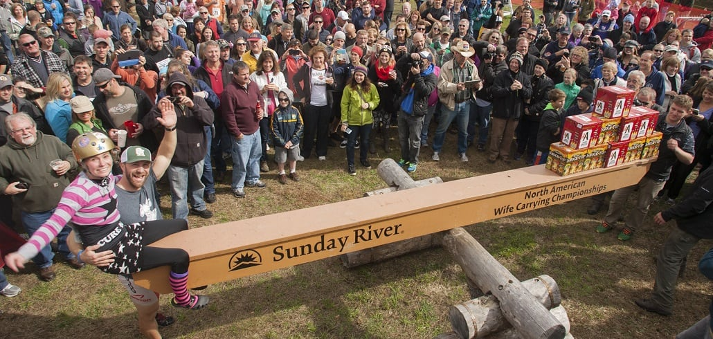 North American Wife Carrying Championship | Events | Sunday River