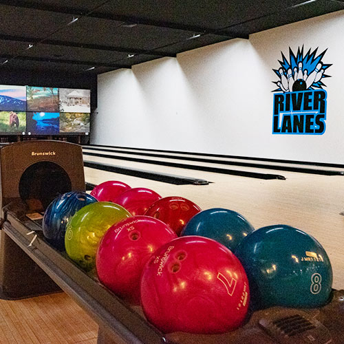River Lanes bowling alley in Bethel.